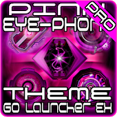 Pink EYE-Phone GO Launcher EX