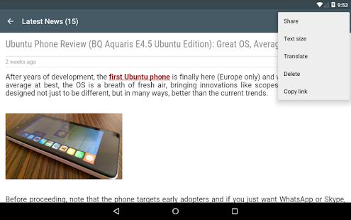 WebUpd8 - Ubuntu / Linux News- screenshot thumbnail