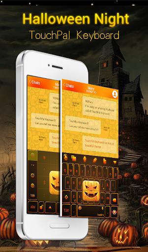 Halloween Night Emoji Keyboard