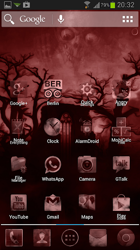 Dark Red Fog Mystery Theme