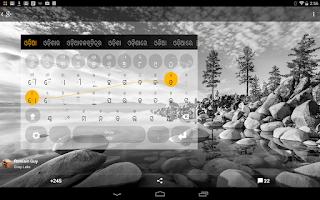 Screenshot of Oriya Keyboard plugin