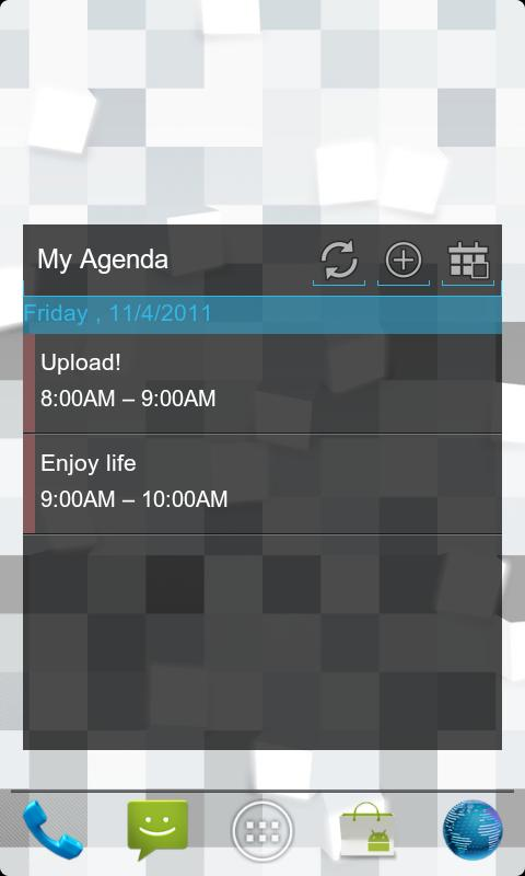 ICS PRO GoWidget Sms Contacts- screenshot