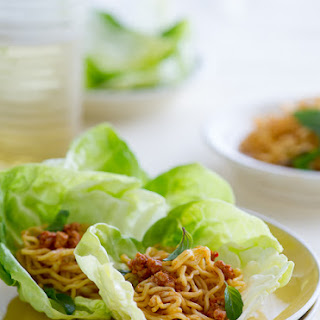 Spicy Pork Lettuce Cups.
