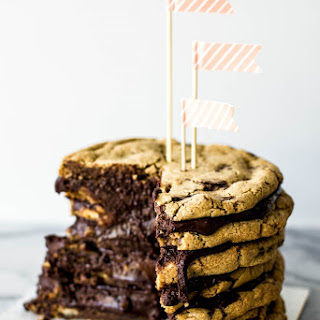 Salted Chocolate Chunk Cookie Layer Cake.