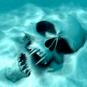 Terrific underwater Skull LWP! logo