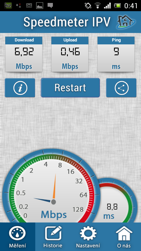 Speedmeter IPV- screenshot