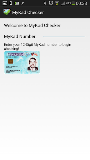 MyKad Checker