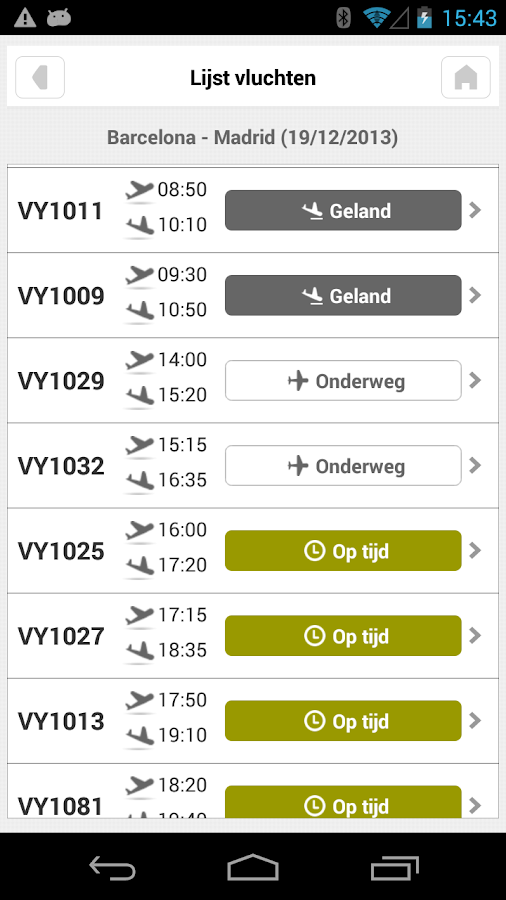 Vueling - screenshot