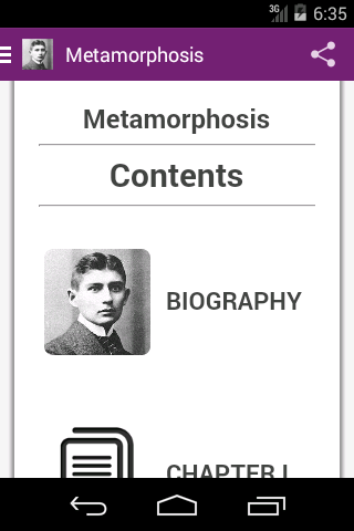 Metamorphosis by Kafka
