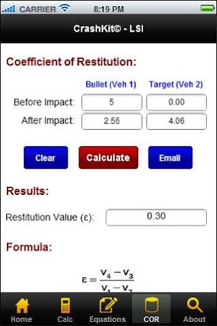 CrashKit - Low Speed Impacts Screenshot