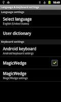 Screenshot of MagicWedge - Data Capture