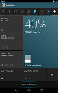 Bataria Pro - Battery Saver - screenshot thumbnail