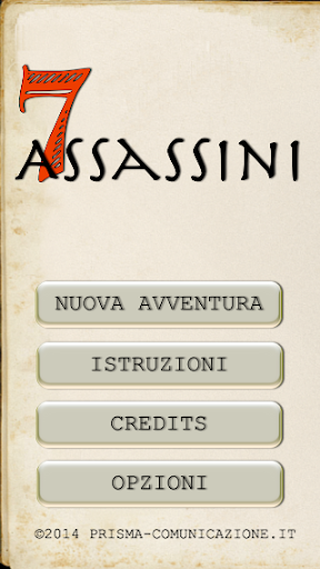 7 Assassini - gamebook