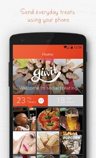 Givvit - Send Treats & Gifts- screenshot thumbnail