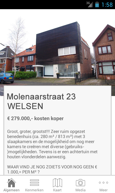 Kuyper & Blom Makelaars: screenshot