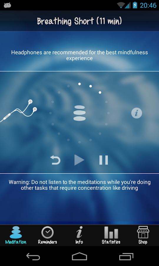 iMindfulness On The Go- screenshot