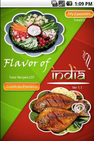 Flavors of India- screenshot