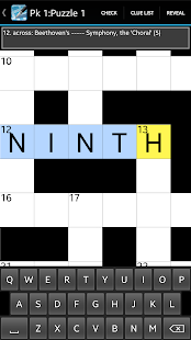 Crossword Lite- screenshot thumbnail
