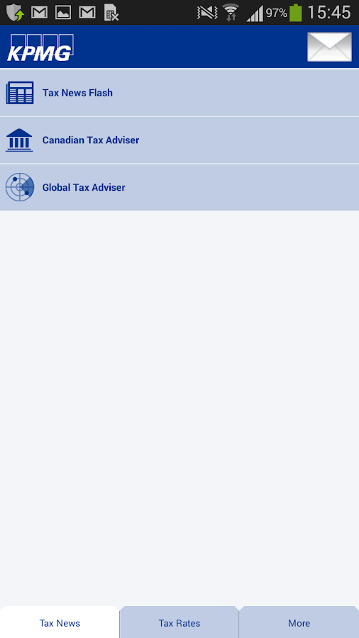 KPMG Tax Hub Canada- screenshot