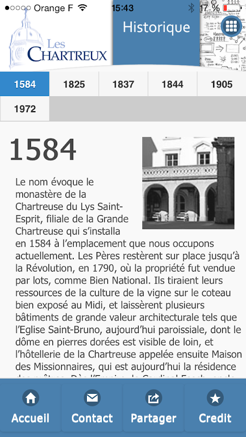 Institution des Chartreux- screenshot
