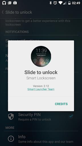 Slide to unlock - Lock screen  screenshots 6