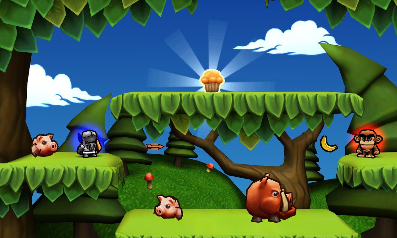 Muffin Knight - screenshot