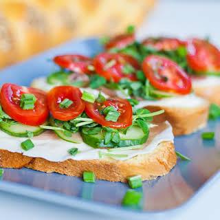 Prosciutto and Veggie Sandwiches.