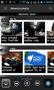 JNewsAustralia screenshot 1