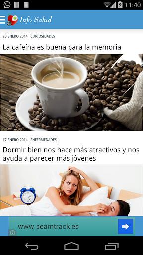 【免費醫療App】Salud y Nutrición-APP點子