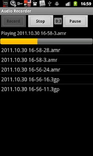 Audio Recorder - screenshot thumbnail