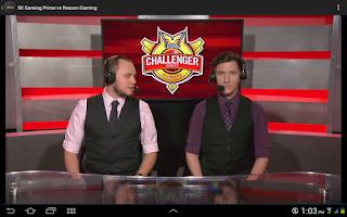 Screenshot of LCS Mashup