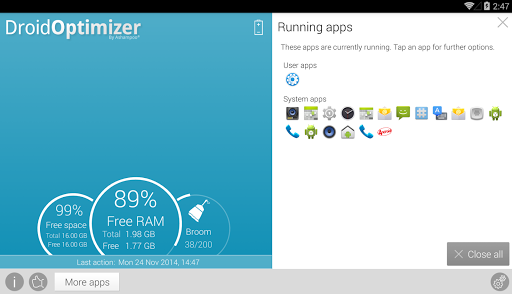 Droid Optimizer 2.1.6 screenshots 10