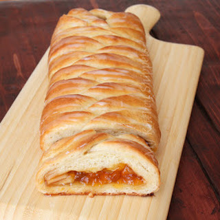 Apricot and Apple Braid