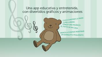Screenshot of MusicBox, Children's Songs