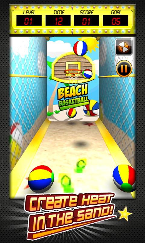 Basketball Shootout (3D)- screenshot