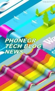 PHONEGREECE TECH BLOG- screenshot thumbnail