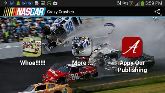 Nascar Crazy Crashes