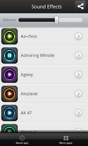 【免費音樂App】音效大全-APP點子