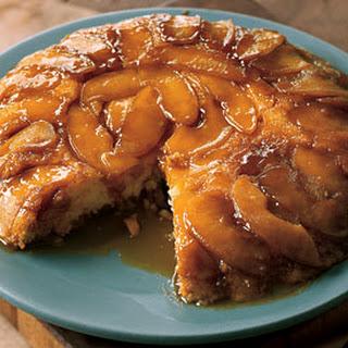 Upside-Down Butterscotch Apple Sour Cream Cake.