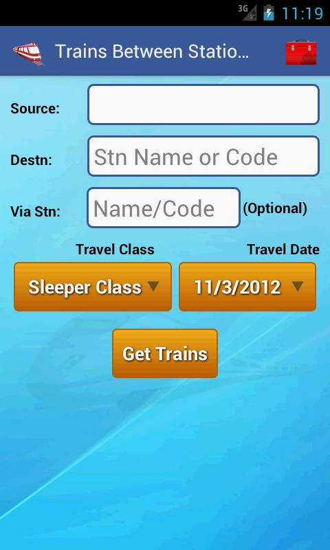 Train App