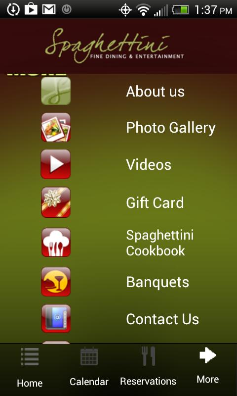 Spaghettini- screenshot