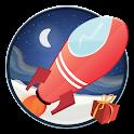 Rocket Sledge Xmas icon