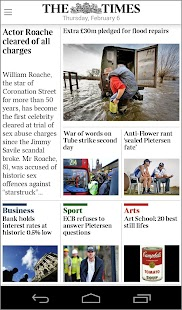 The Times & Sunday Times - screenshot thumbnail