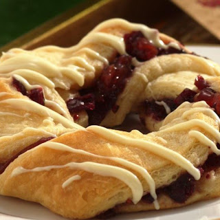 Cranberry Crescent Pastries.
