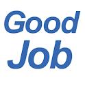 グッジョブ! 就職 就職活動 就活 リクルート 求人 転職 logo