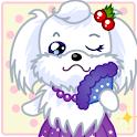 (카톡테마) 귀요미 핑크 강아지 icon