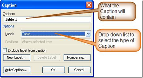 Civil 3D Reminders: Captions in Word