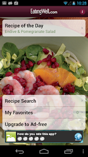 EatingWell Healthy in a Hurry Fitness app screenshot for Android