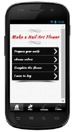 玩書籍App|Make a Nail Art Flower免費|APP試玩