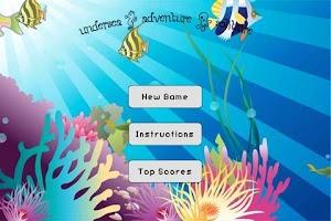 Screenshot of Undersea Adventure Solitaire
